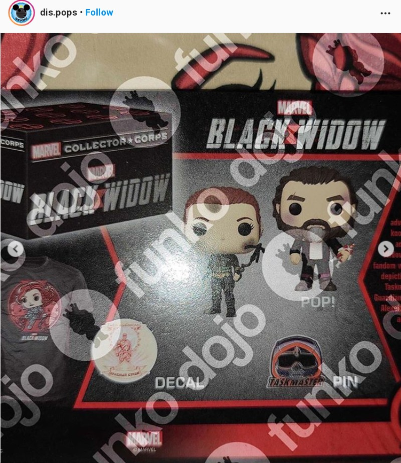 Black Widow Fanko Pop (8)