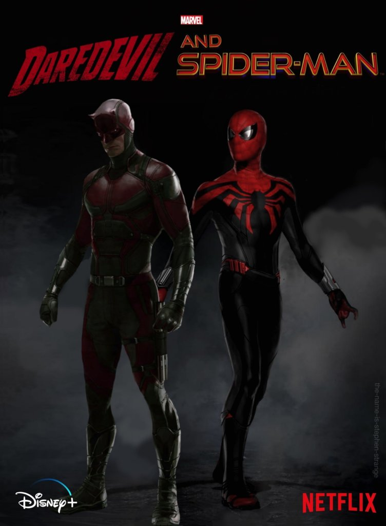 daredevil and spiderman (2)